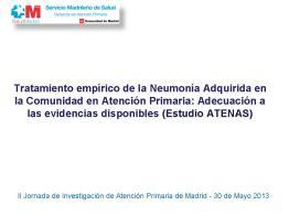 II Jornadas de investigacion ATENAS V3 bea