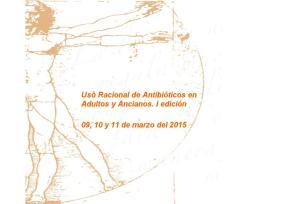 Uso racional de antibioticos en ADULTOS 1 marzo 2015